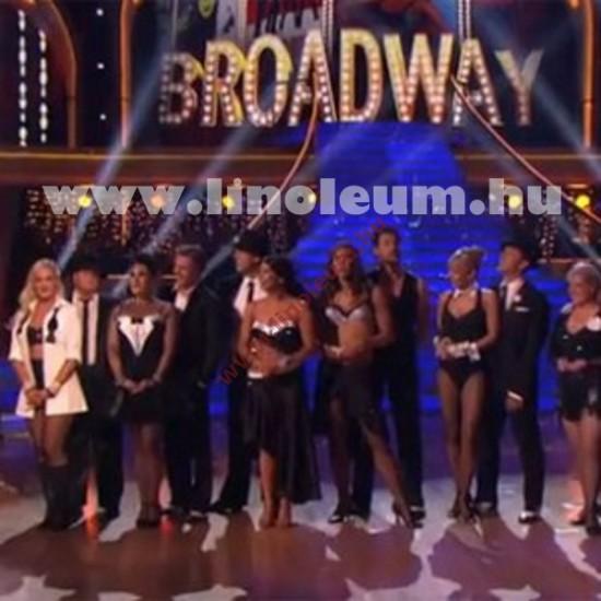 Broadway 17 PVC padlo, egyszínű PVC padlo, tánc padlo