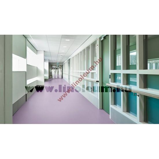 Silver Knight Acoustic 9 Vastag, hangszigetelt ipari PVC padlo, Korházi PVC padló. Antibakteriális PVC padló
