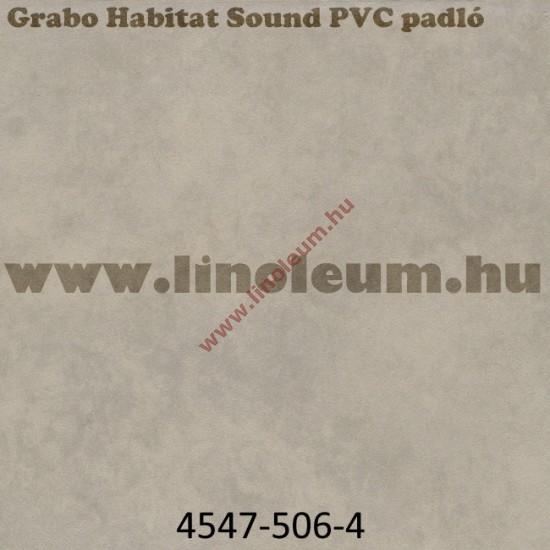 Grabo Habitat Sound közületi, lakossagi hangszigetelt PVC padlo, vastag PVC padlo
