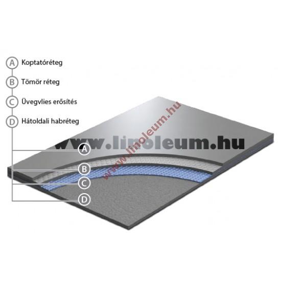 Evidance 60 PVC padlo, egyszínű PVC padlo, show PVC padlo