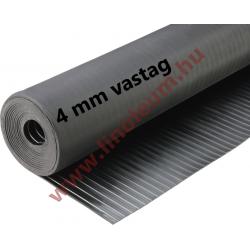 Gumiszőnyeg széles bordás kivitel 4 mm