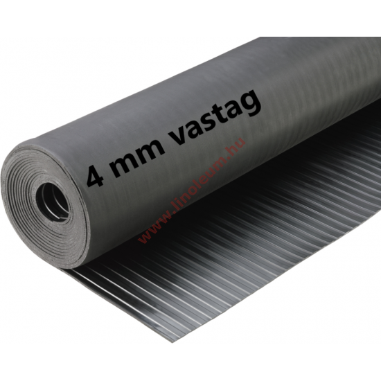Gumiszőnyeg széles bordás kivitel 4 mm: gumi szőnyeg, csúszásgátló gumiszőnyeg