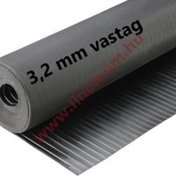 Gumiszőnyeg széles bordás kivitel 3,2 mm