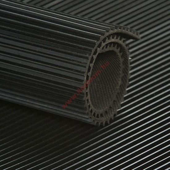 Gumiszőnyeg sűrű bordás kivitel 3 mm: gumi szőnyeg, csúszásgátló gumiszőnyeg