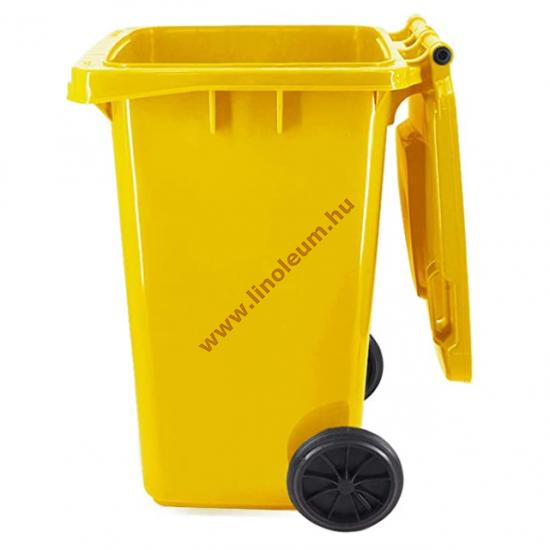 szemetes, hulladék gyűjtő, kuka,240 literes műanyag hulladéktároló