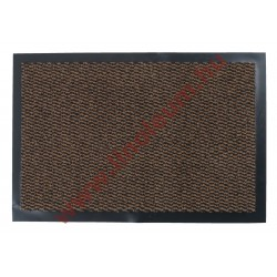 Négyszögletes szennyfogó szőnyeg 60 x 40 cm barna