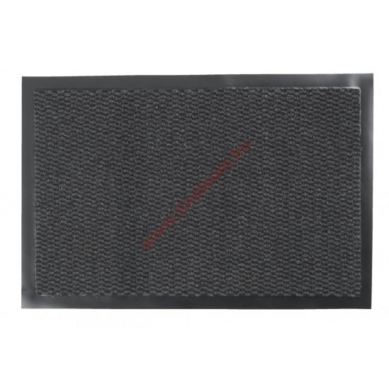 Négyszögletes szennyfogó szőnyeg 60 x 40 cm szürke