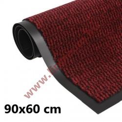 Négyszögletes szennyfogó szőnyeg 90 x 60 cm bordó