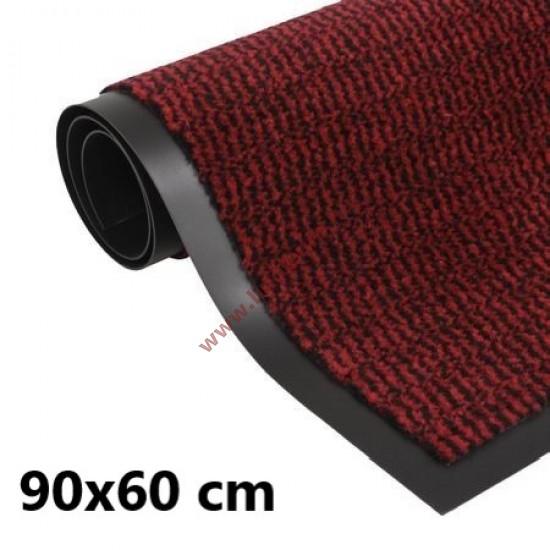 Lábtörlő, szennyfogó szőnyeg 90 x 60 cm bordó