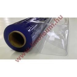 Víztiszta PVC fólia 0,8 mm vastag