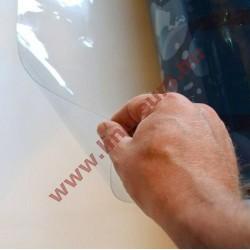 Víztiszta PVC fólia 0,1 mm vastag